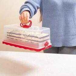 Wysoki pojemnik na ciasto