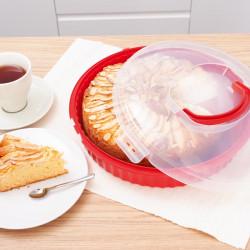 Okrągły pojemnik na ciasto