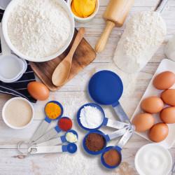 Zestaw 8 miarek kuchennych