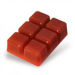 Zestaw 6 wosków do kominka czekolada