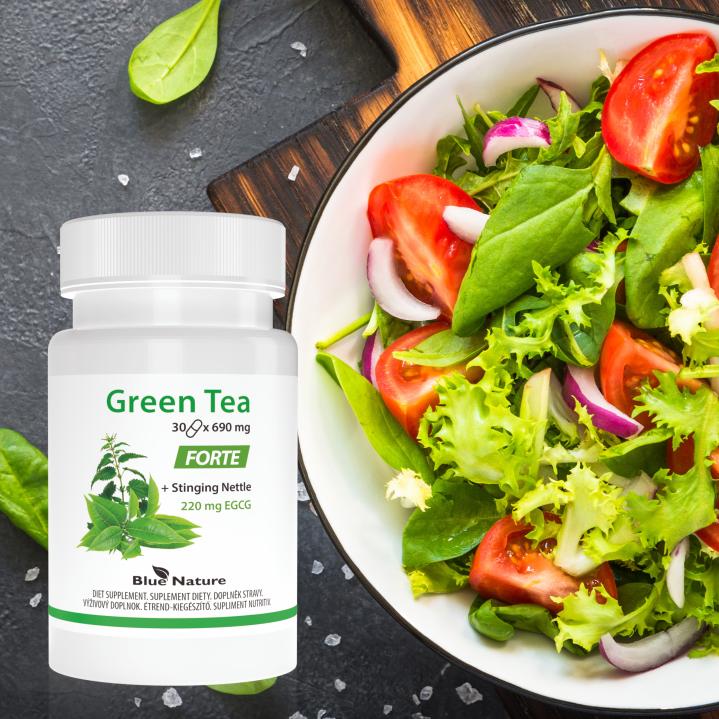 Zielony zastrzyk energii czyli Green Tea Forte