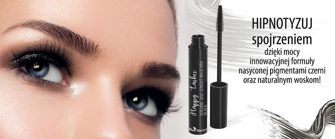 HIPNOTYZUJ spojrzeniem dzięki mocy innowacyjnej formuły nasyconej pigmentami czerni oraz naturalnym woskom!