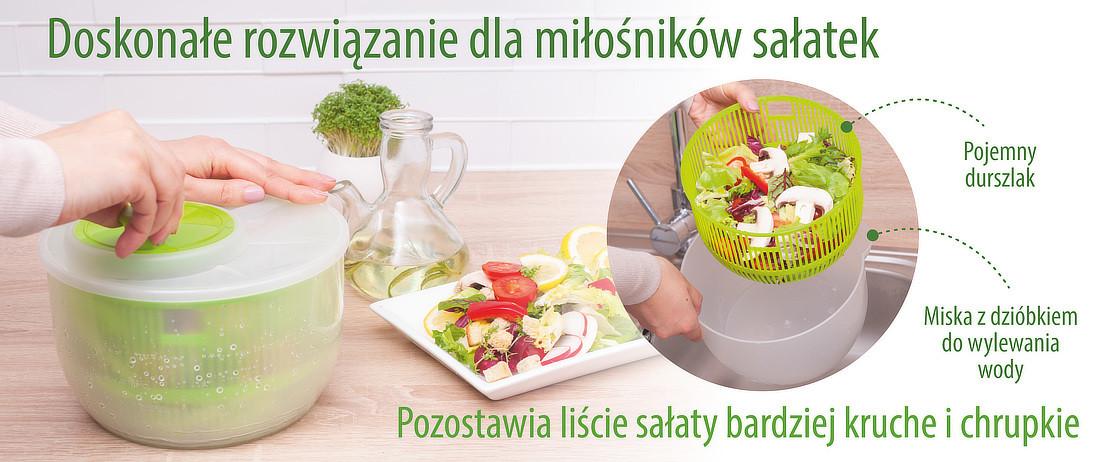 Doskonałe rozwiązanie dla miłośników sałatek